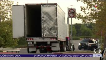 migrantes, muertos, tráiler, Texas