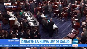 John, Mccain Recibe Ovacion Regresar Senado