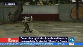 Suman Magistrados Detenidos Venezuela Hernan Lugo Galicia Nicolas Maduro