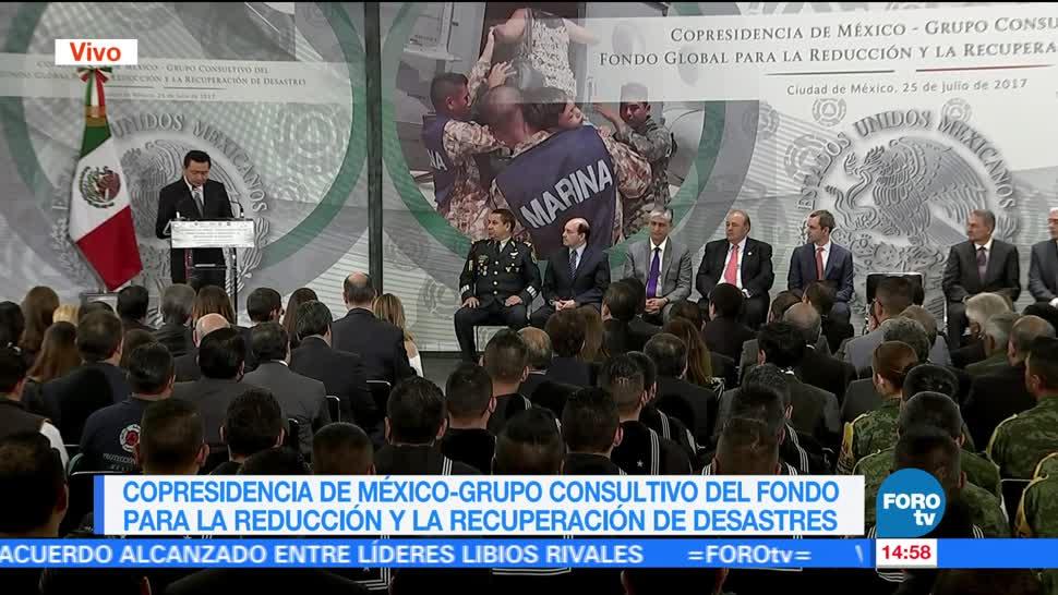 Miguel Angel Osorio Chong Reduccion De Desastres Secretario Gobernacion