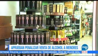 Noticiero Aprueban Penalizar Alcohol Menores CDMX