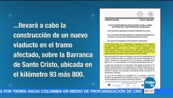 Televisa Noticiero Viaducto Paso Express Cuernavaca