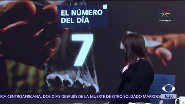 El, número, día, 7
