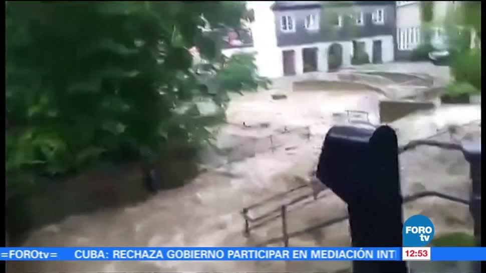 Lluvias, provocan, inundaciones, Alemania