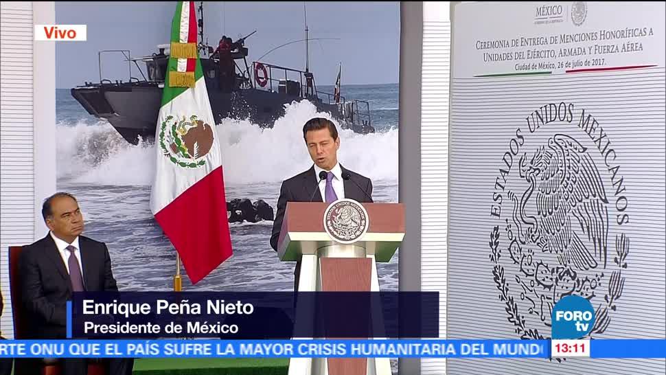 Televisa New, Menciones HonorIficas, Militares Marinos