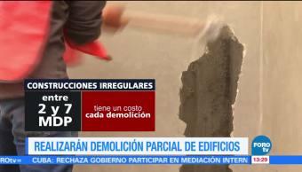 Televisa News Construcciones Irregulares Demolidas CDMX