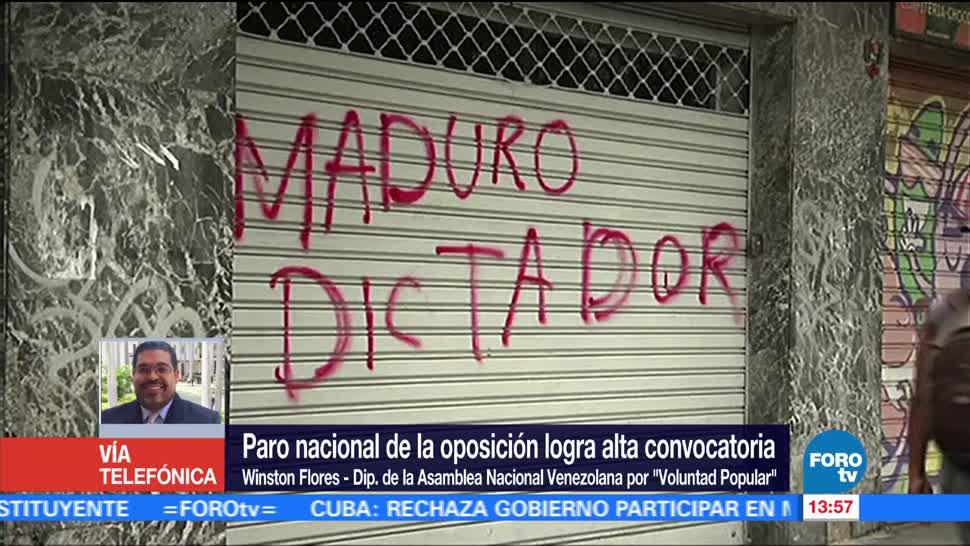 Televisa News Winston Flores Comunidad Internacional