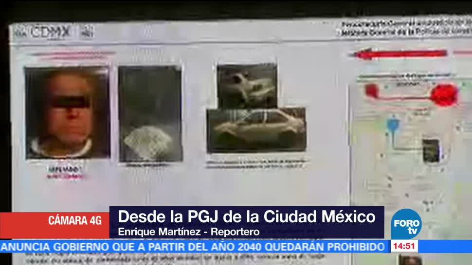 Detenidos Operativos Tlahuac PGJCDMX, Noticieros Televisa