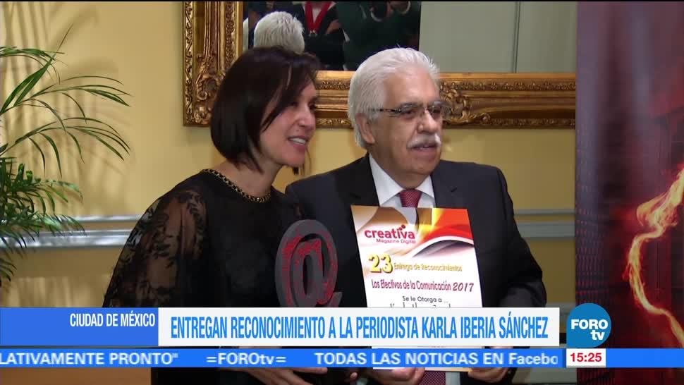 Paula Ordorica Reconocimiento Karla Iberia Sanchez
