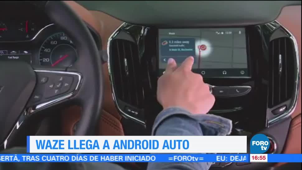 Televisa News Waze Llega Android Auto