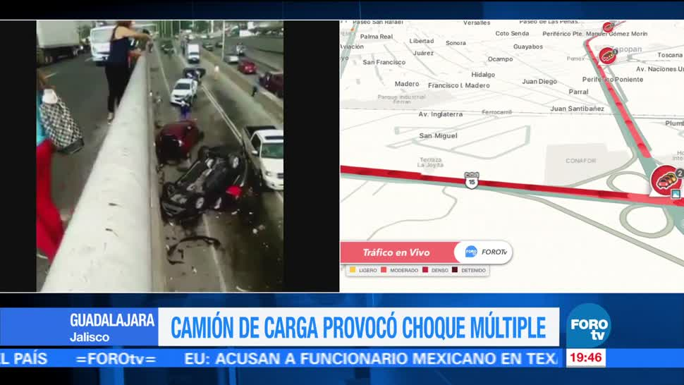 Camion, Impacta, Vehiculos, Guadalajara Vallarta Video