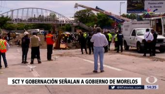 Cuestionan Actuación Gobierno Morelos Caso Socavón