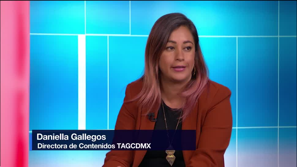 TAGCDMX Festival Conferencias Talleres Centro Cultural