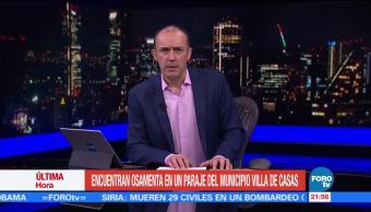 Hallan Osamenta Española Tamaulipas Pilar Garrido PGJ