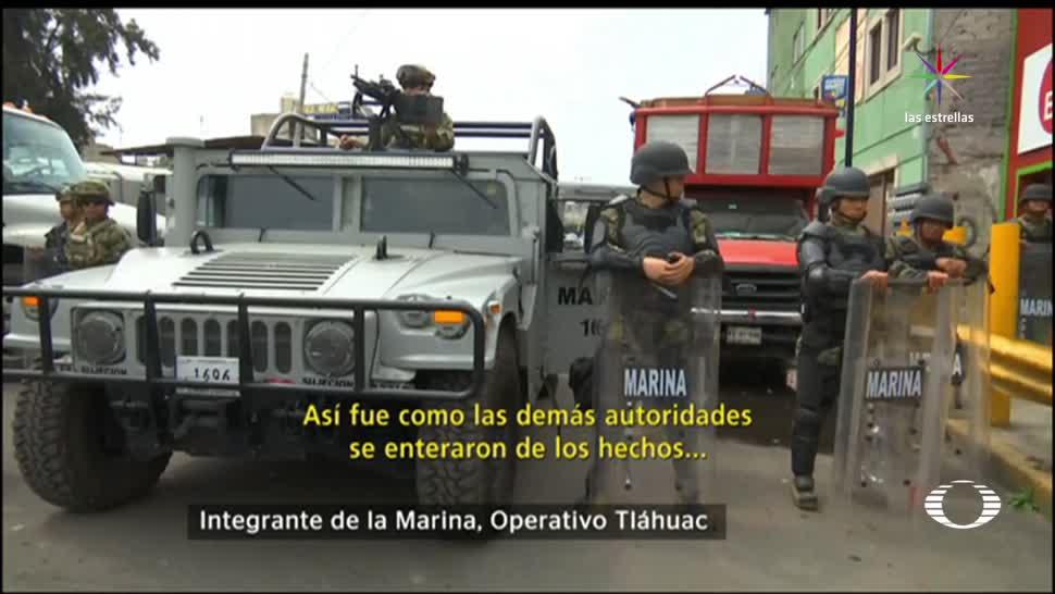 Testimonio Marino Enfrento Ojos Tláhuac CDMX