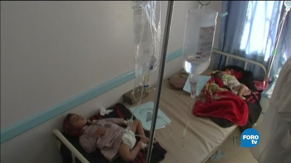 Hambruna Colera Yemen Remedio Crisis Humanitaria