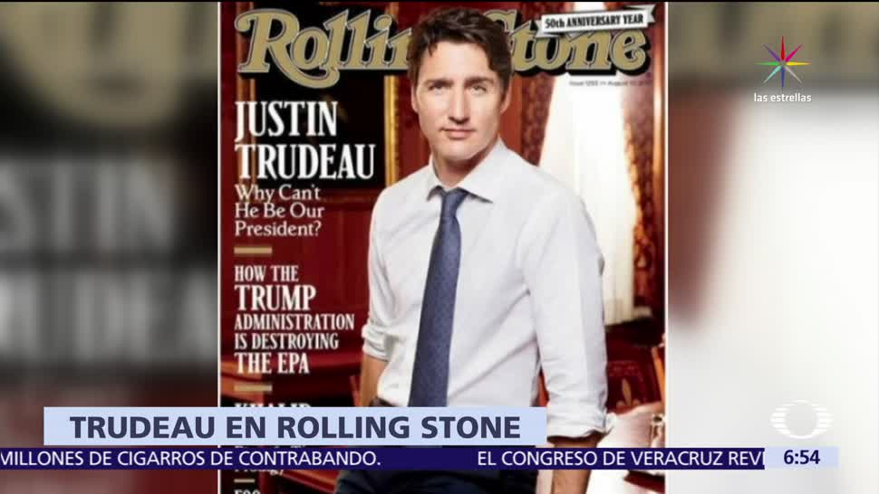 Revista Rolling Stone Portada Justin Trudeau