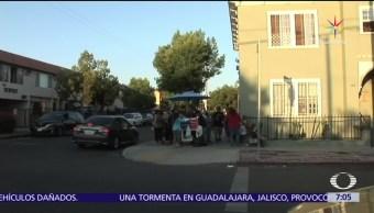 Latinos Manifiestan Apoyo Elotero agredido