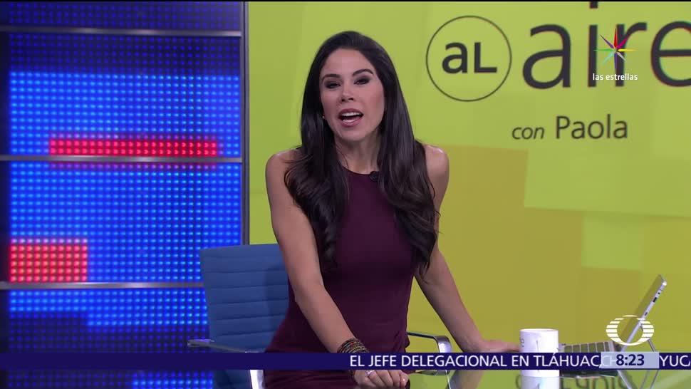 Al aire, Paola Rojas, Programa, julio