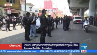 Detienen, personas, operativo, Tláhuac