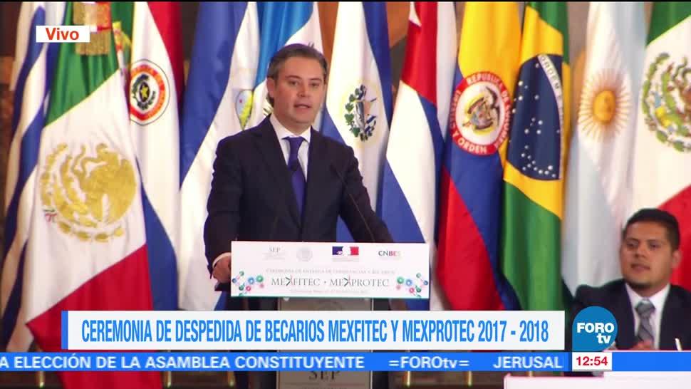 Relación, México, Francia, educación
