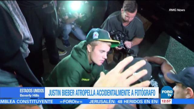 Justin Bieber Atropella Fotógrafo Beverly Hills