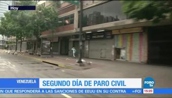 Paula Ordorica Segundo Dia Paro Venezuela