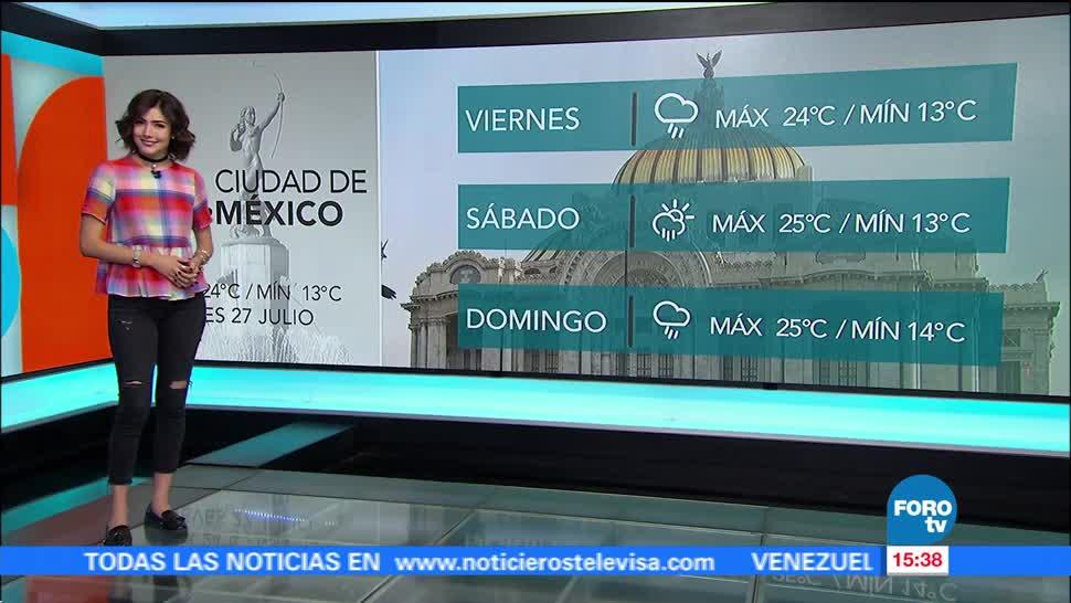 Paula Ordorica Clima A las Tres Daniela alvarez