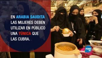 Mujeres realizan activismo digital Arabia Saudita