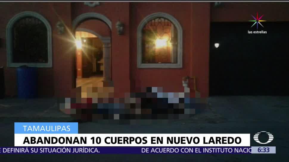 Televisa News Dejan Diez Cuerpos Tamaulipas