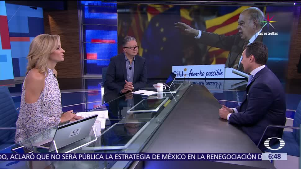 Televisa News Independencia Referendum Cataluna Analisis