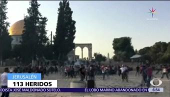 Televisa News Siguen Enfrentamientos Explanada Mezquitas