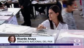 Televisa News Tope Campanas Ricardo Anaya