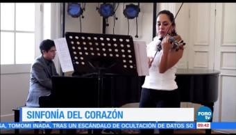 Televisa Noticias Entrevista Violinista Aura Hernandez