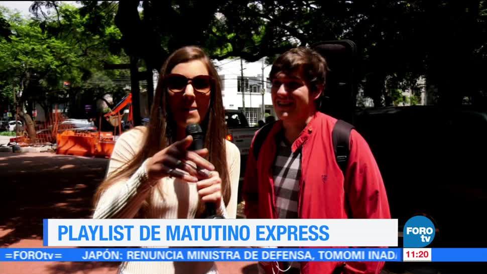 Playlist Matutino Express Sofia Escobosa Canciones