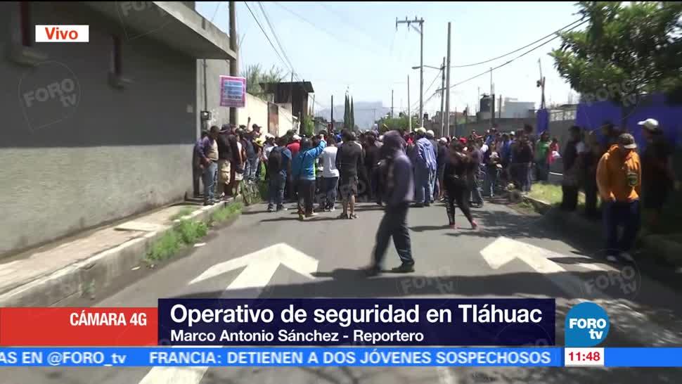 Vecinos Delegacion Tlahuac Manifiestan Decomiso Mototaxis