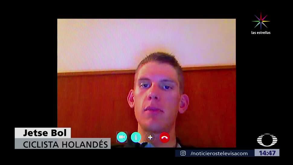 Ciclista Holandes Representara Mexico Espana Jetse Bol Forma Simbolica