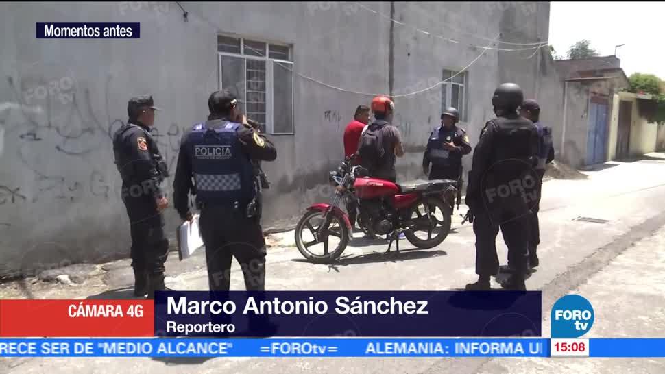 Continuan Operativos Seguridad Delegacion Tlahuac Detenidos Consumir Drogas