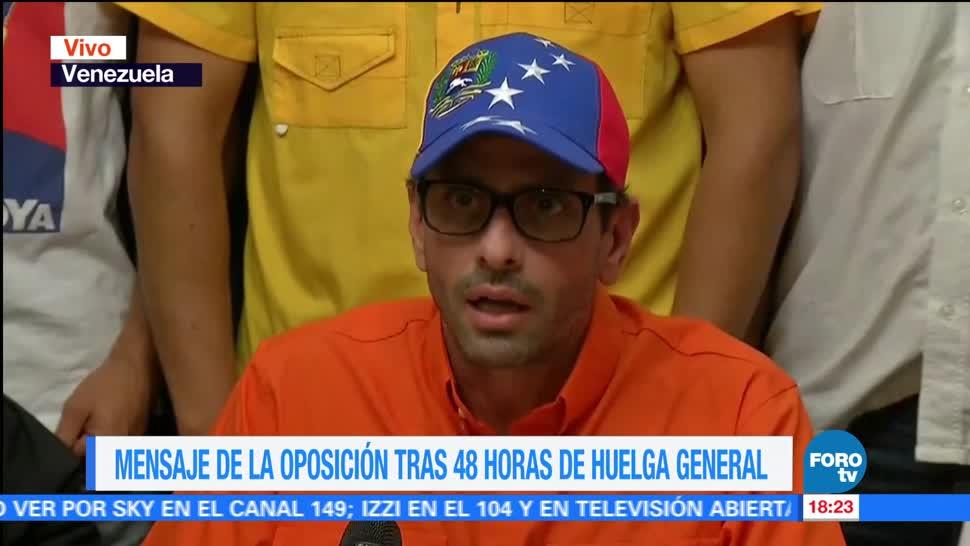 Maduro Destituye Alcaldes Opositores Enrique Capriles