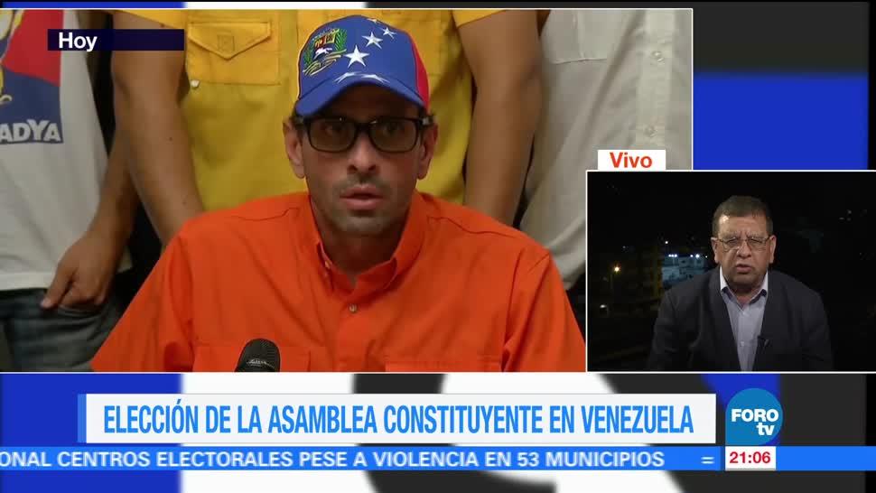 Tensión Venezuela previo elección Asamblea Constituyente