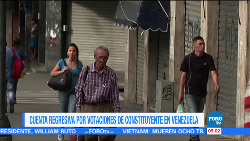 Cuenta Regresiva Votacion Constituyente Venezuela Jornada