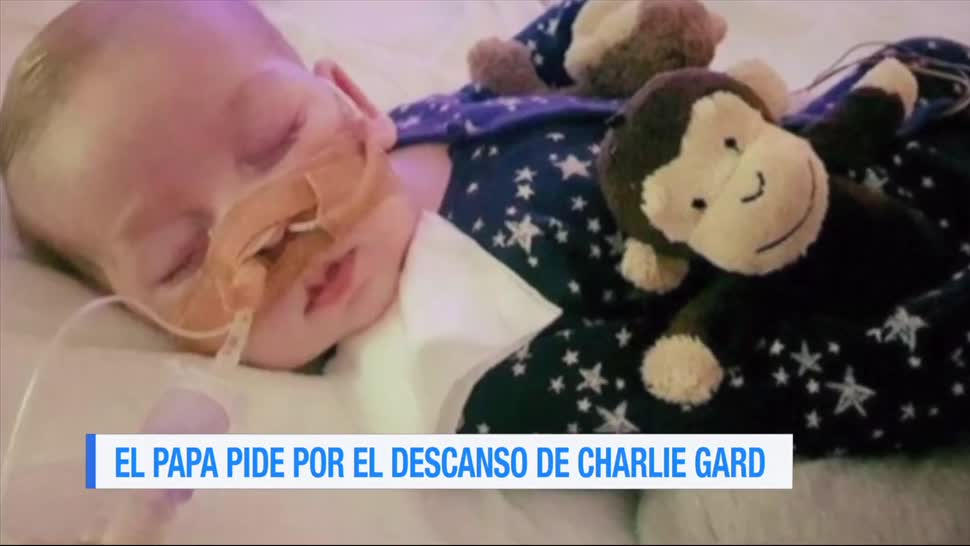 Papa Francisco Descanso Charlie Gard Twitter