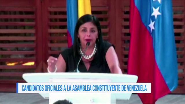 Candidatos Oficiales Asamblea Constituyente Venezuela Aliados