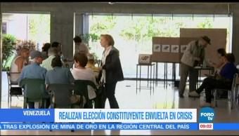 Realizan, elección, Constituyente, Venezuela