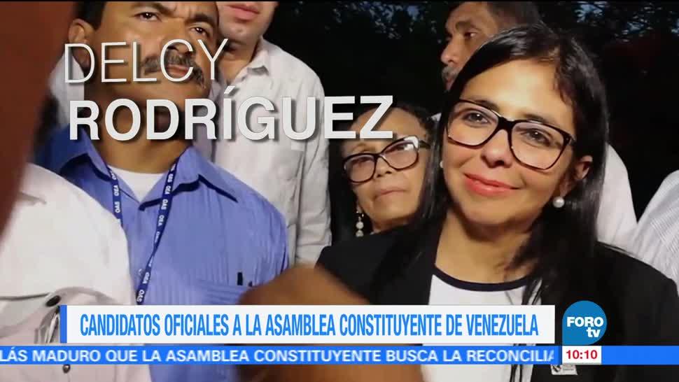 Candidatos, oficiales, Asamblea Constituyente, Venezuela