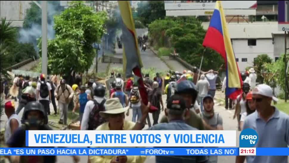 Domina violencia y abstención Constituyente Venezuela