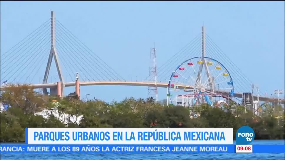 Parques Urbanos República mexicana Ximena Cervantes Reportaje