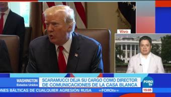 Anthony Scaramucci Washington Casa Blanca Nombramiento Director Comunicaciones