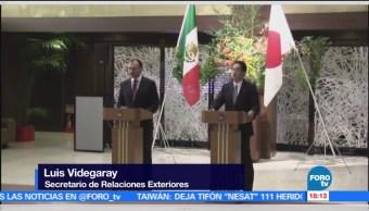 Mexico Relacion Comercial Japon Luis Videgaray Secretario De Relaciones Exteriores