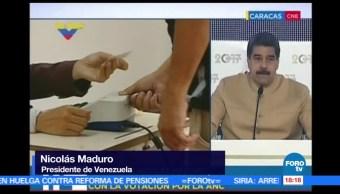 Maduro Celebra Constituyente Opositores Protestan Calles De Venezuela Ricardo Burgos